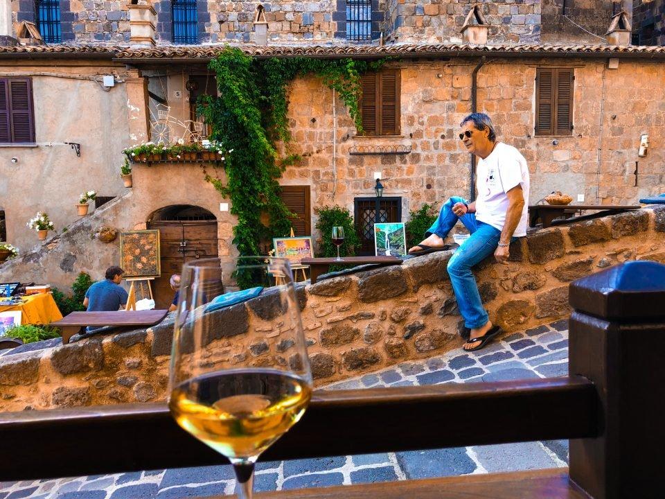Wijnwandelen Bolsena