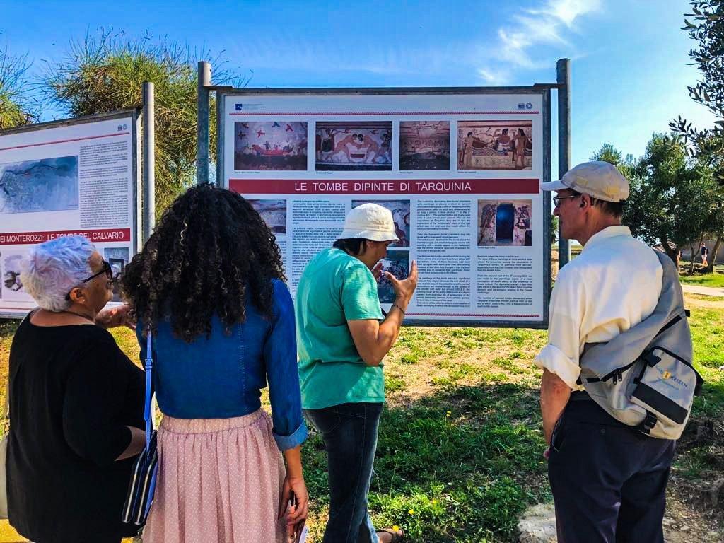 Taequinia etrusken cultuur reis Italie