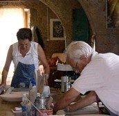 Keramiek vakantie Italië-volg de rode schoentjes