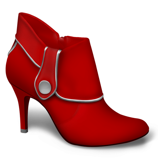Volg de rode schoentjes