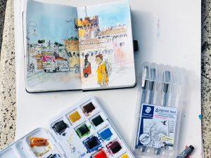 Urban Sketching Rome
