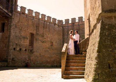 Volg de rode schoentjes trouwen Italie08