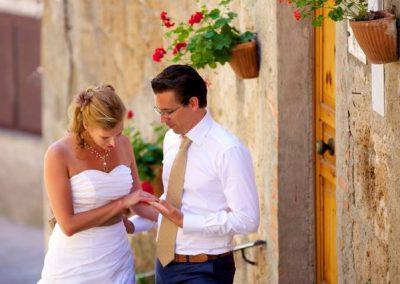 Volg de rode schoentjes trouwen Italie10