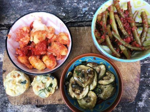 Vegetarische kookvakantie Italië
