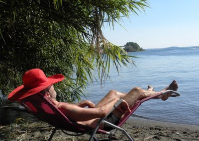 relaxen strand Bolsena