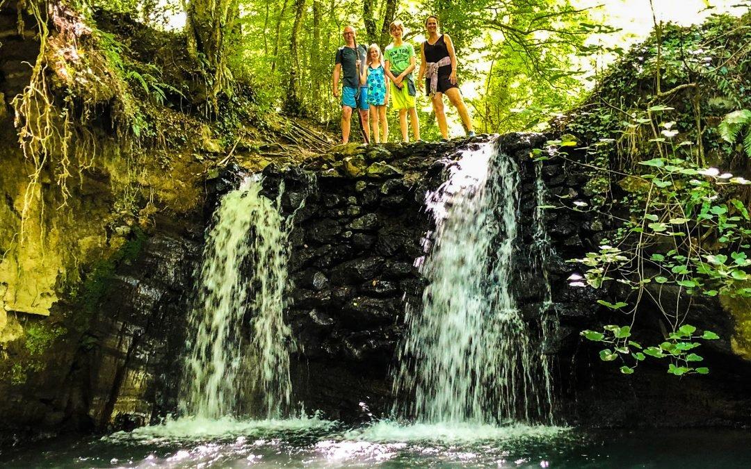 Aqua trekking Bolsena Italie