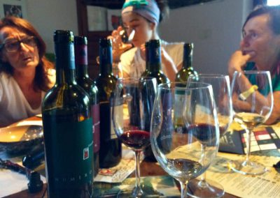 Wijn wandel reis Italie