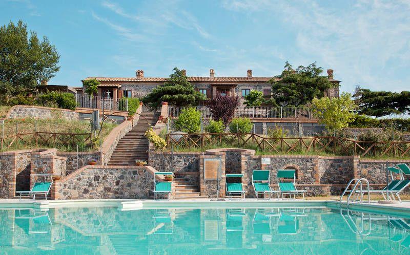 Vakantiehuis 2 tot 4 personen Bolsena. Italie