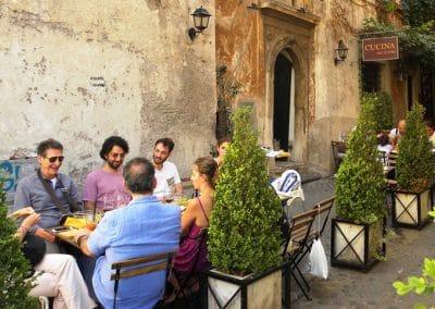 Wandel vakantie - kook vakantie- Italie- -Volg de rode Schoentjes
