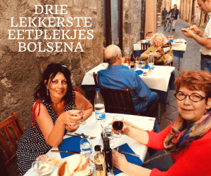 leuke restaurantjes in Bolsena