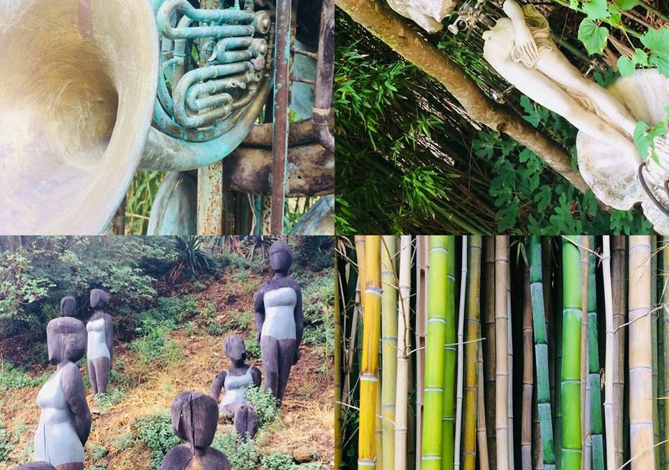 Dinsdag – Kunst en beelden tuin La serpara