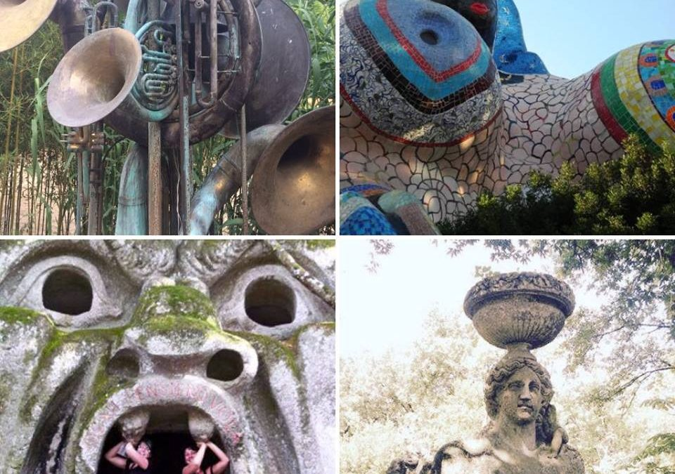 Dinsdag – Kunst en beelden tuin  Vila Lante