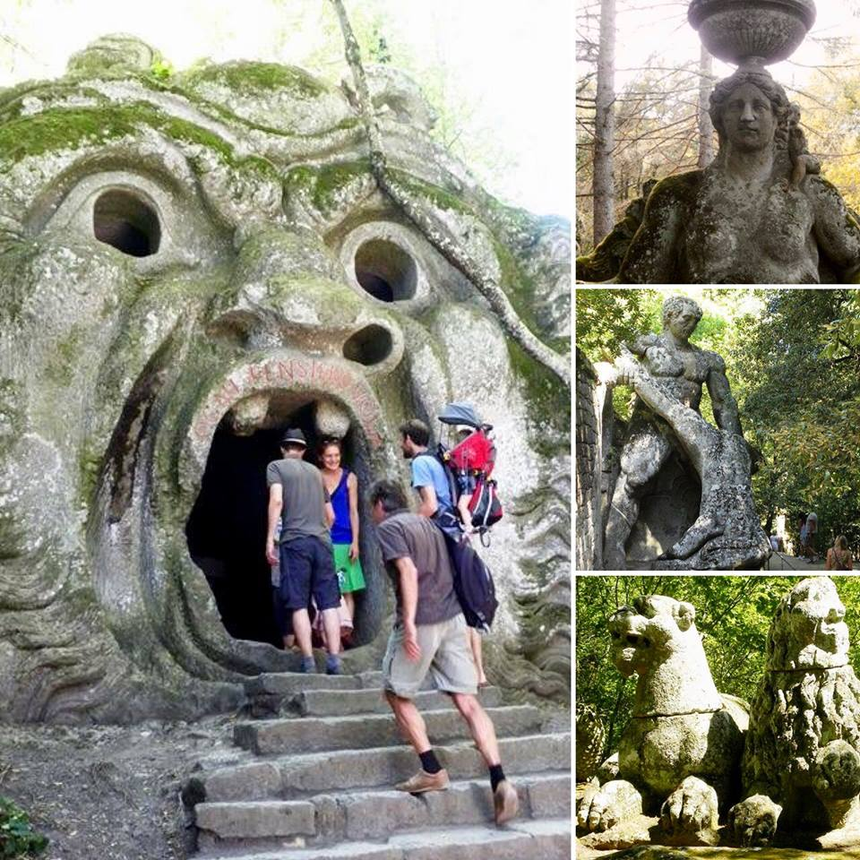 Beelden tuin Bormazo excursie
