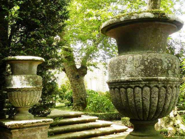 Kunst en beeldentuin Villa Lante Italie
