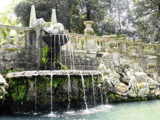 Beeldentuin Villa Lante Italie
