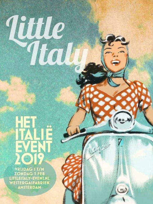 Little Italy evenement Amsterdam