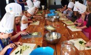 kinderen koken Italiaans italie