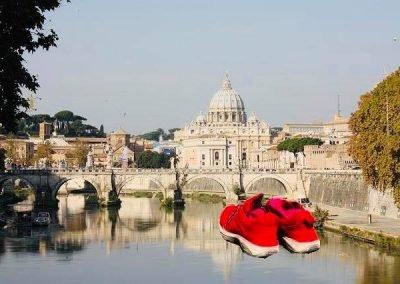 wandelen van Orvieto naar Rome