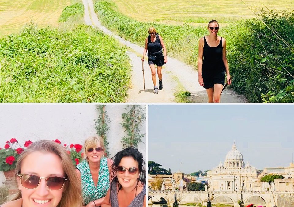 Wandelen van Orvieto naar Rome over de Via Francigena