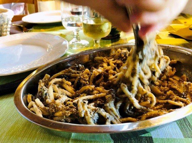 Kookvakantie Italië vegetarisch volg de rode schoentjes