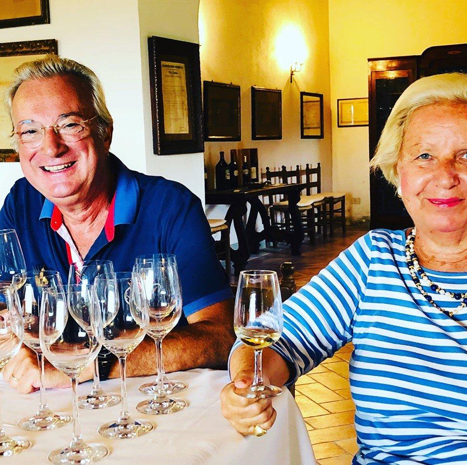 Wandelen wijnproeven Bolsena
