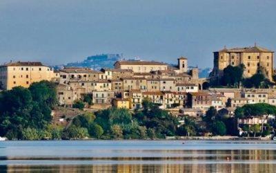 lungolago di Bolsena van Marta naar Capodimonte