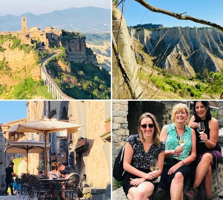 Vrijdag- Wandeling Civita di Bagnoregio