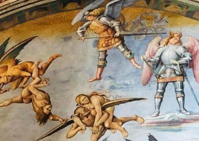 Schildervakantie Italië volg de rode schoentjes