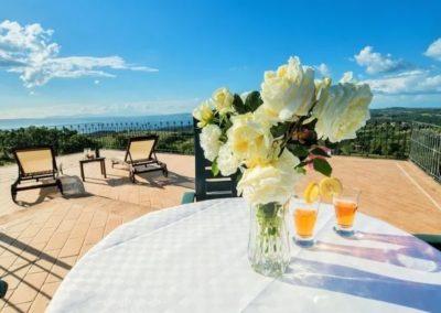 16 pers villa Montefiascone Volg de rode schoentjes