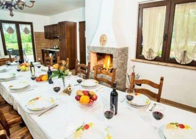 16 pers villa Montefiascone Volgderodeschoentjes