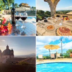 Villa vanaf 16 personen Lago di Bolsena