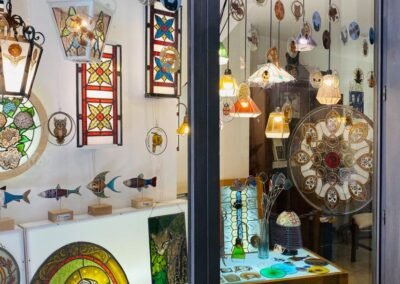 Glas atelier Bolsena