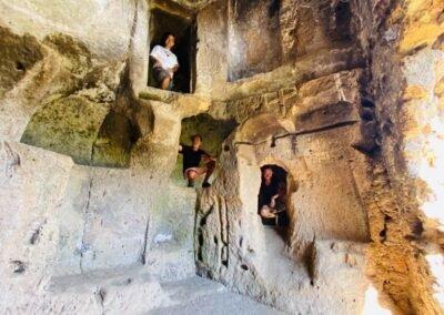 Wandelvakantie Italië Etrusken volg de rode schoentjes