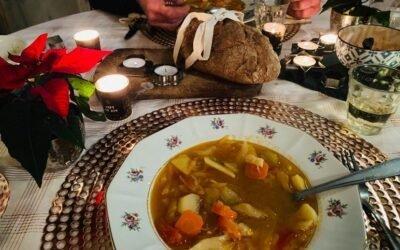 Beveiligd: Online Italiaanse vegan kerst kookworkshop.