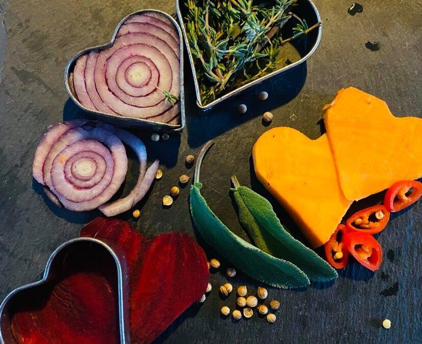 Online Valentijn kookworkshop Italiaans en vegan