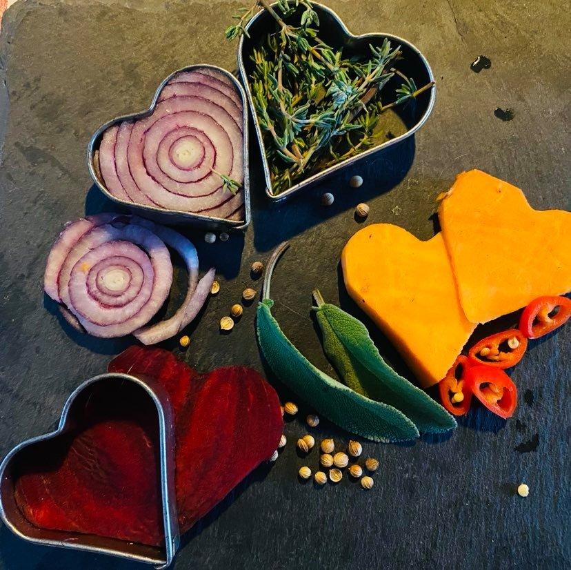 Online koken Valentijnsdag