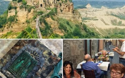 Masterclass online schilderen Bolsena midden Italië